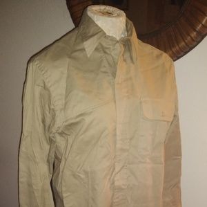 Ralph Lauren Khaki Military Shirt